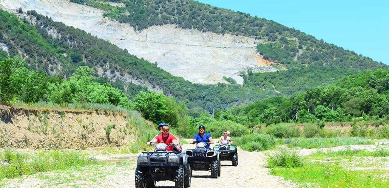 Прогулка на квадроциклах в Геленджике 3 - Топовые развлечения на курортах Кубани