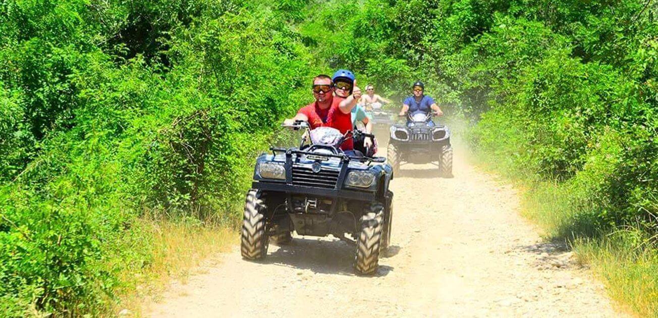 Прогулка на квадроциклах в Геленджике 4 - Топовые развлечения на курортах Кубани