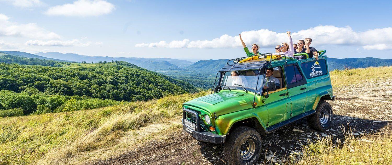Джиппинг маршрут «Сердце Кавказа» Люкс 2 - Топовые развлечения на курортах Кубани