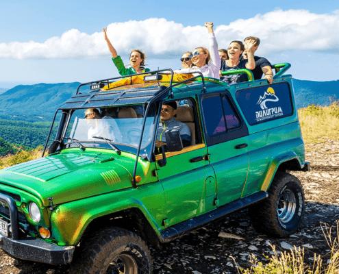 Джиппинг в Геленджике 1 - Топовые развлечения на курортах Кубани