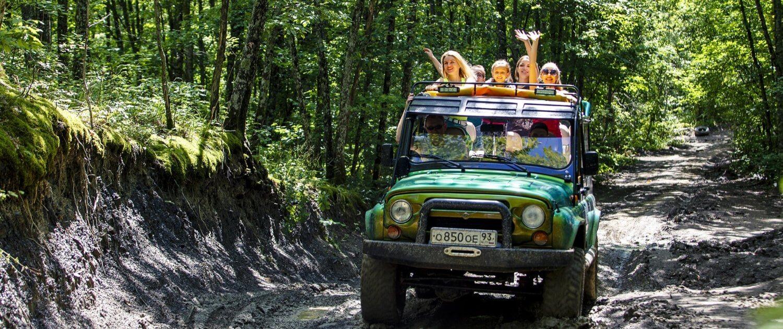 Джиппинг маршрут «Экстрим тур» 4 - Топовые развлечения на курортах Кубани