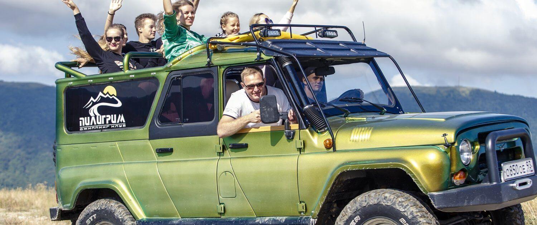 Джиппинг маршрут «Экстрим тур» 1 - Топовые развлечения на курортах Кубани