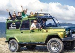 Джиппинг маршрут «Экстрим тур» 3 - Топовые развлечения на курортах Кубани